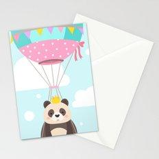 King Baby Panda Stationery Cards