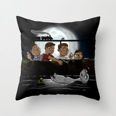 Stand By E.T. Throw Pillow