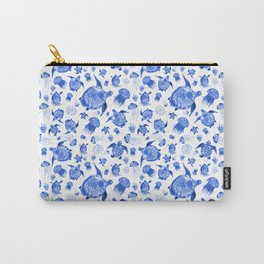 Ocean Life-Blue Palette Carry-All Pouch