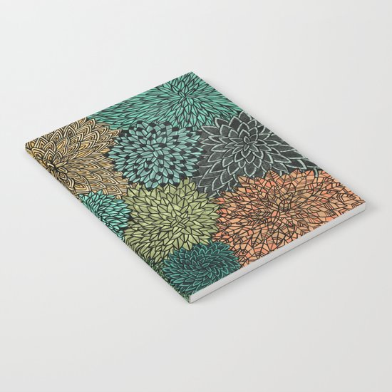 Ink  Pattern No.4 Notebook