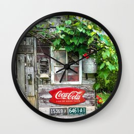 Summer Shed Wall Clock