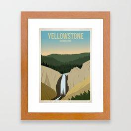 Yellowstone National Park Framed Art Print