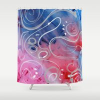 jazz Shower Curtains featuring Jazz by Angelina Yvette