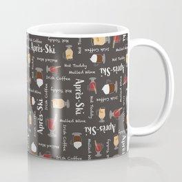 Après-Ski (Chalkboard Black) Coffee Mug