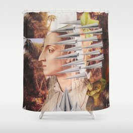 Laura The Iron Maiden Shower Curtain