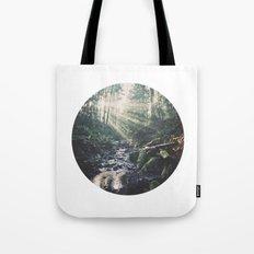 Sunbeam River Tote Bag