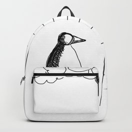 Metaphysical Penguin Waiting for You Backpack