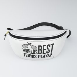 Worlds Best Tennis Player | Sports Gift Idea Fanny Pack