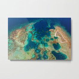 Colours of the Reef Metal Print