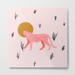 trot cat Metal Print
