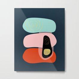 Modern minimal forms 41 Metal Print