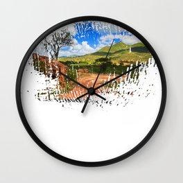 See America The Beautiful American Traveller Wall Clock