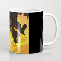 dungeons and dragons Mugs featuring DUNGEONS & DRAGONS - INTRO by Zorio