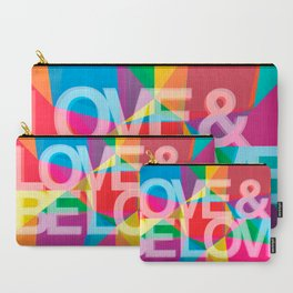 LOVE & BE LOVE Carry-All Pouch