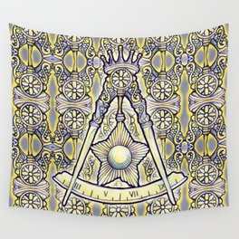 14th Degree (spanish tile) Wall Tapestry