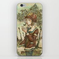 wesley bird iPhone & iPod Skins featuring Wesley by kenta.s