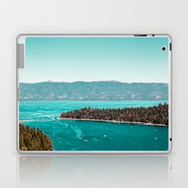 Even in the summer this lake looks like a frozen glass. Laptop & iPad Skin