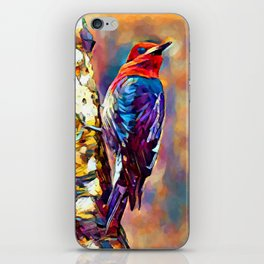 Red-Breasted Sapsucker iPhone Skin