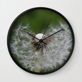 Incomplete dandelion Wall Clock