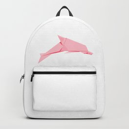 Origami Dolphin Backpack