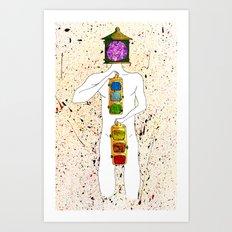 Chakras Art Print