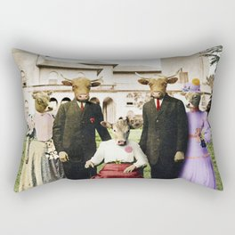 Cowtown Abbey Rectangular Pillow