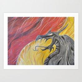 Brimstone Art Print