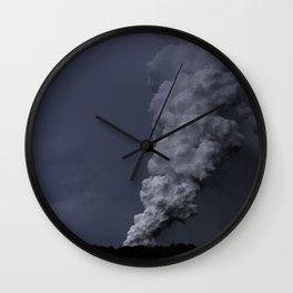 Hawaii's Kilauea volcano erupting. Wall Clock