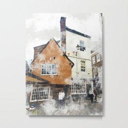 York England Metal Print