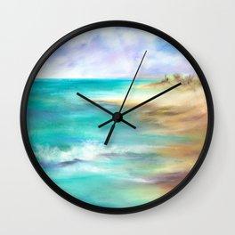 Naples Sands Wall Clock