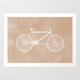 Bicyclette. Art Print