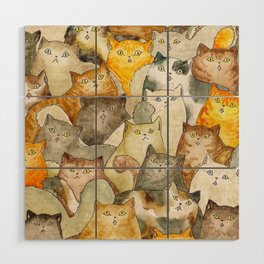 The Cat's Meow Wood Wall Art