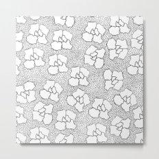 FLOWERS OF SPRING Metal Print