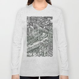 The Town of Train 1 Long Sleeve T-shirt