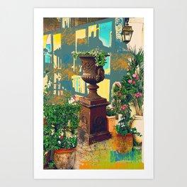 Urban TLV Art Print