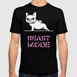 BEAST MODE FRENCH BULLDOG T-shirt