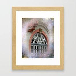 window -3- Framed Art Print