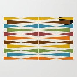 Mid-Century Modern Art 1.4 Rug