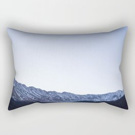 Daylight Moon Ridge Rectangular Pillow