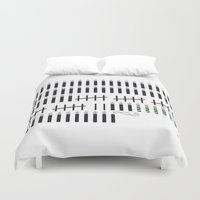 mandela Duvet Covers featuring Mandela  by Keep It Simple