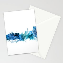 Calcutta (Kolkata) India Skyline Stationery Cards
