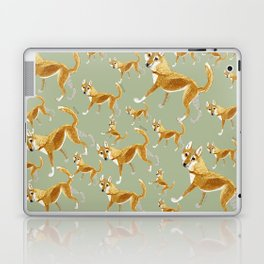 Ginger dingo pattern (c) 2017 Laptop & iPad Skin
