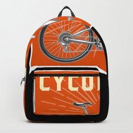 Bicycle Cyclist Cycling Mountain Bike Backpack
