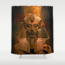 Akhenaten Shower Curtain