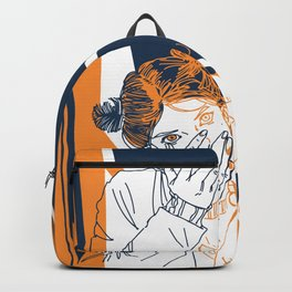 Girl and geometry Backpack