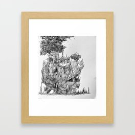 Isle .032 Framed Art Print
