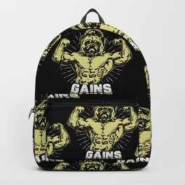 Gains Pug Backpack