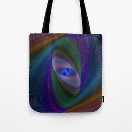 Elliptical fractal Tote Bag