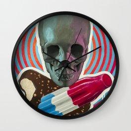 Skull x Pops Wall Clock
