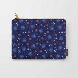 Blue Bell Anemone Carry-All Pouch